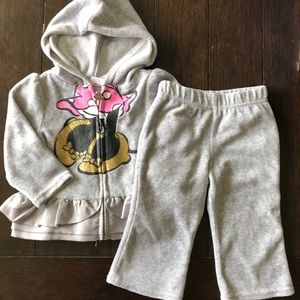 Disney Matching Sets - Cute velour set